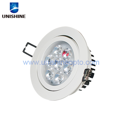 High power 7W LED Ceiling Downlight