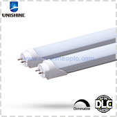 HCL-T812P18S2XD-UL-X DLC Listed 4ft 18W Dimmable LED T8 Tube
