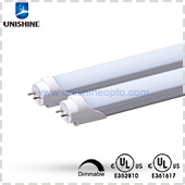 HCL-T812P18S2XD-UL-X UL cUL Listed 18W 4ft Dimmable LED T8 Tube
