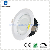 HCL-D401P12X-2 4inch 12W Dimmable LED COB Downlight