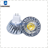 HCL-MR16P3X-1S6 High Lumen 110lm/w COB GU5.3 Base MR16 LED Spotlight